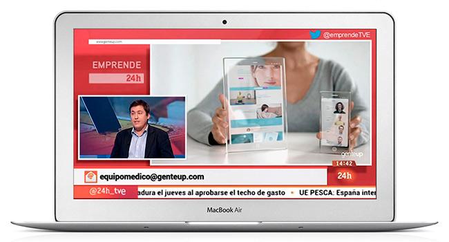 genteUp en Televisión Española, de la mano de Microsoft