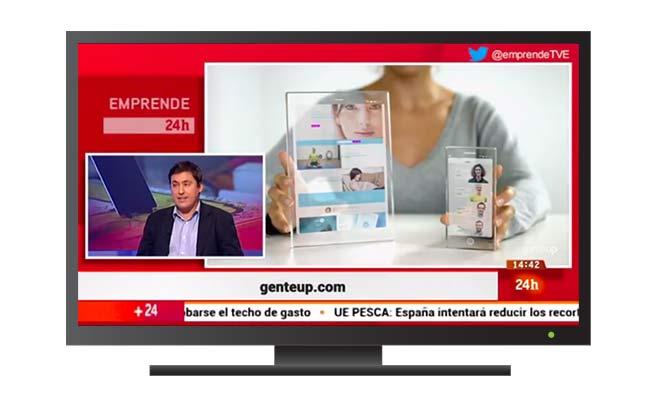 genteUp en Televisión Española, con Microsoft
