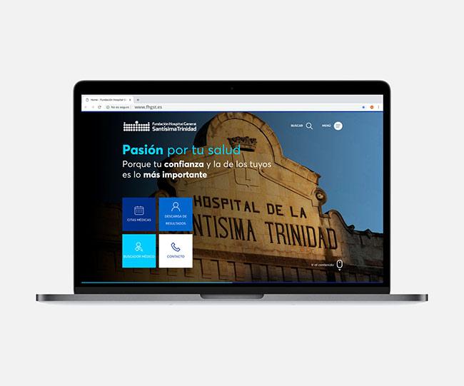 Presentamos la nueva web de Fundación Hospital General Santísima Trinidad