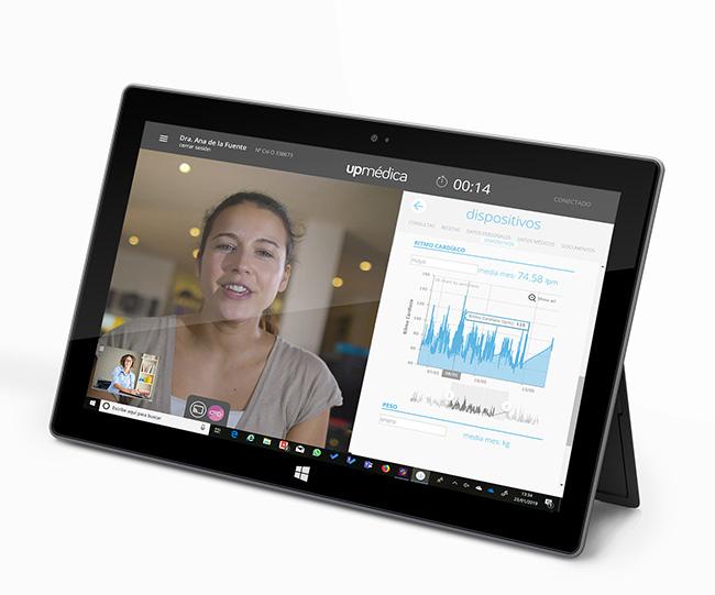 ¿Necesitas una plataforma de telemedicina con monitorización?