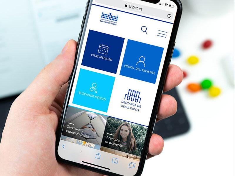 La Fundación Santísima Trinidad avanza en los servicios digitales para pacientes