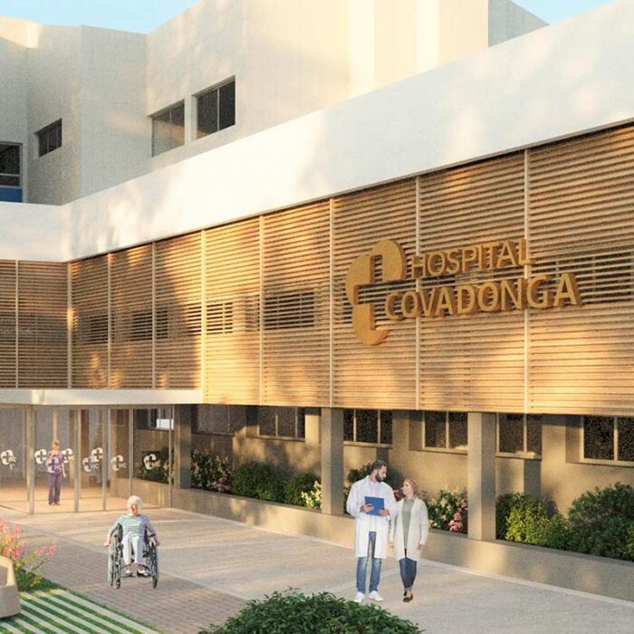 Hospital Covadonga, un hospital líquido en Asturias