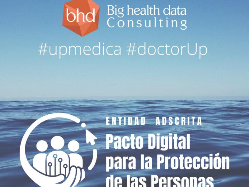 Primera plataforma de telemedicina adscrita al #PactoDigitalAEPD