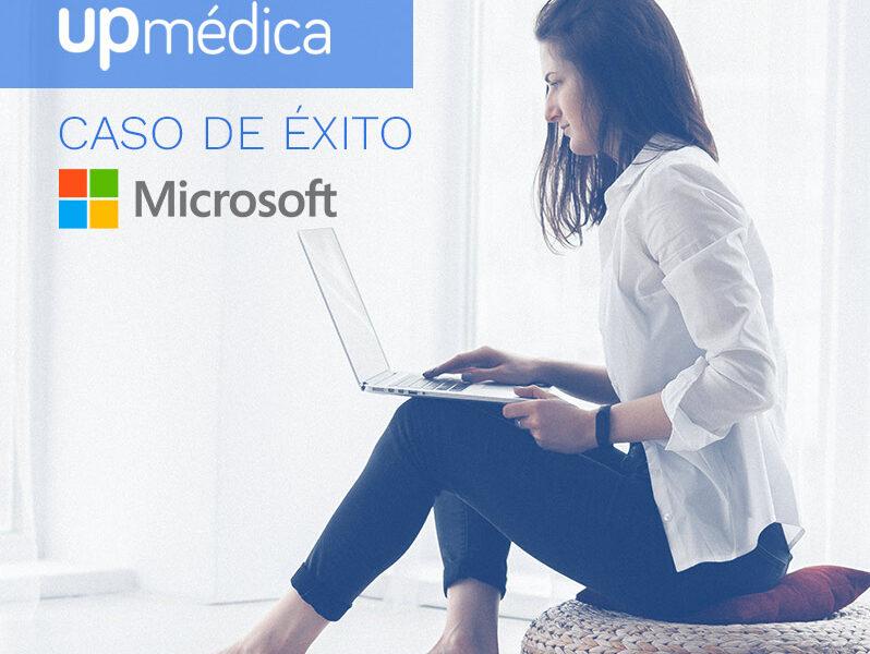 Upmédica, telemedicina caso de éxito con Microsoft